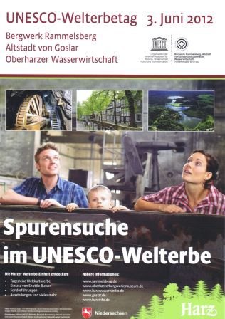 Plakat Welterbetag 2012