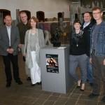 """Mitarbeiter des Dortmunder LWL-Industriemuseums zu Besuch in der Sonderausstellung """"Hard Work"""""""