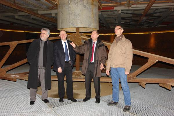 Kooperation Hochschule Harz Rammelsberg Erzaufbereitung