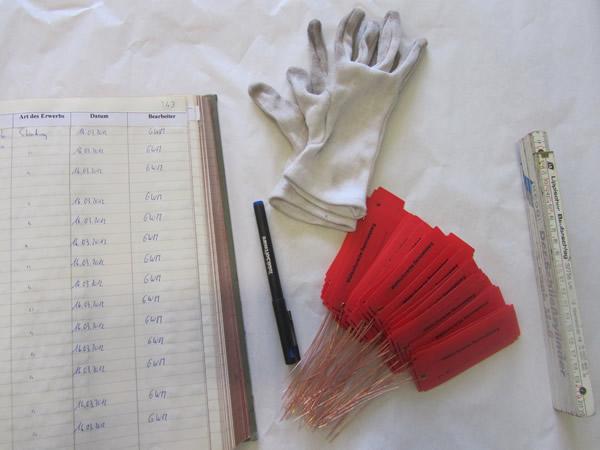 Werkzeuge für die Eingangserfassung von Objekten