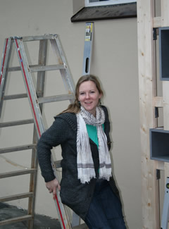 Morea Kuhlmann bei der Arbeit