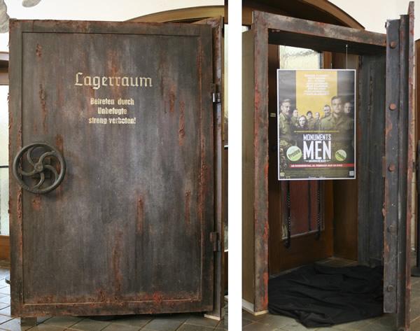 Filmkulisse Monuments Men Lagerraum Rammelsberg