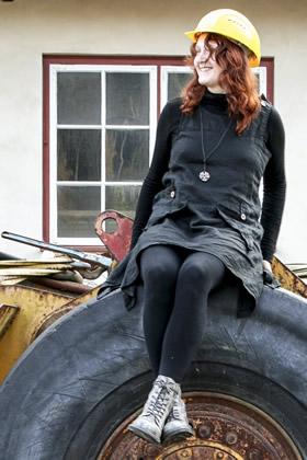 Katharina Fuhrhop - Volontärin am Rammelsberg