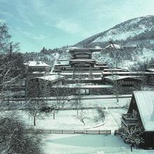 Obertageanlagen am Rammelsberg im Schnee