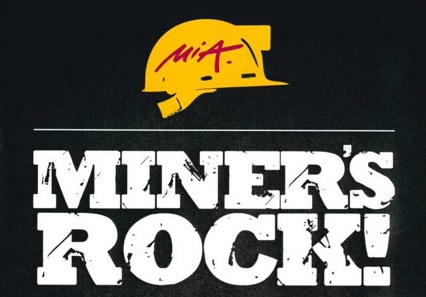 Plakat Miners Rock Rammelsberg 13 November 2015