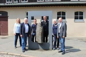 Dr. Wilhelm Priesmeier Mdb und seine Büromitarbeiter zu Besuch am Rammelsebrg