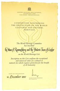 Urkunde_Weltkulturerbe