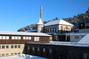 Rammelsberg Übertageanlagen im Winter