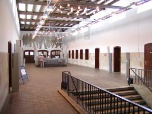 Lohnhalle und Kassenbereich