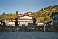 Die ehemalige Erzaufbereitung des Bergwerks Rammelsberg