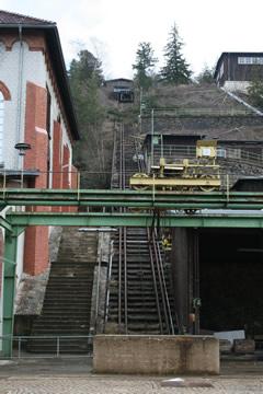 Schrägförderanlage am Rammelsberg