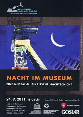 """Plakat zur Aktion """"Nacht im Museum"""""""