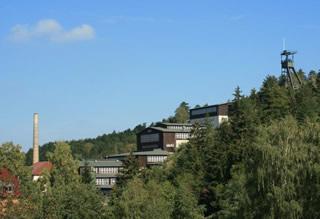 Spätsommer am Rammelsberg - Gebäude über Tage