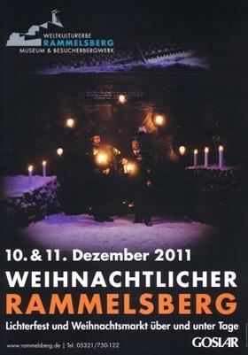 Weihnachtlicher Rammelsberg, Plakat