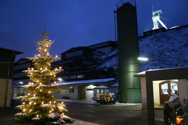 Weihnachtsbaum am Rammelsberg