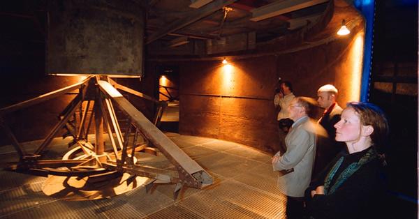 Blick in den Eindicker der Erzaufbereitung Rammelsberg