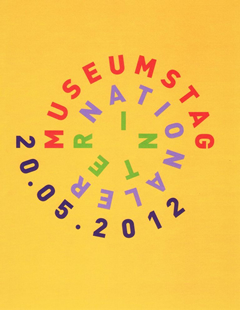 Plakat Internationaler Museumstag am 20. Mai 2012