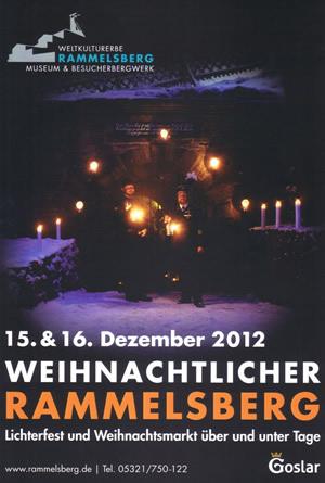 Plakat zur Veranstaltung: Weihnachtlicher Rammelsberg