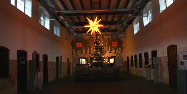 Weihnachtliche Dekoration am Rammelsberg