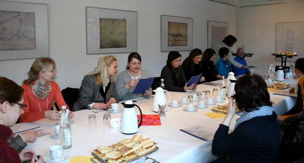 Treffen mit Multiplikatoren aus dem Bereich Marketing und Tourismus am Rammelsberg