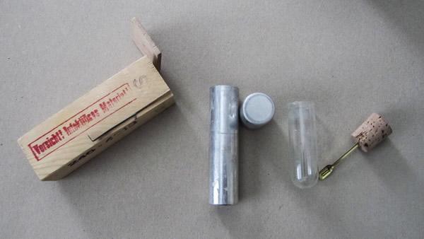 Set für medizinische Stuhlproben - handwerklich gefertigt
