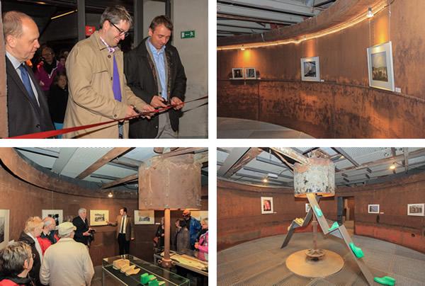 Bilder von der Eröffnung der Ausstellung zum Welterbe Fagus-Werk