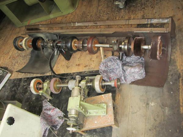 Arbeiten beim Translozieren der Schuhmacherwerkstatt Oberle - 4