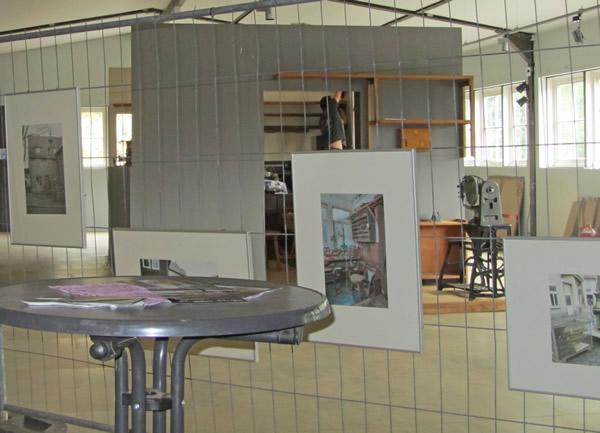 Beobachtungsposten auf die Ausstellung JEZT im Museum. Die Geschichte der Schuhmacherwerkstatt Oberle
