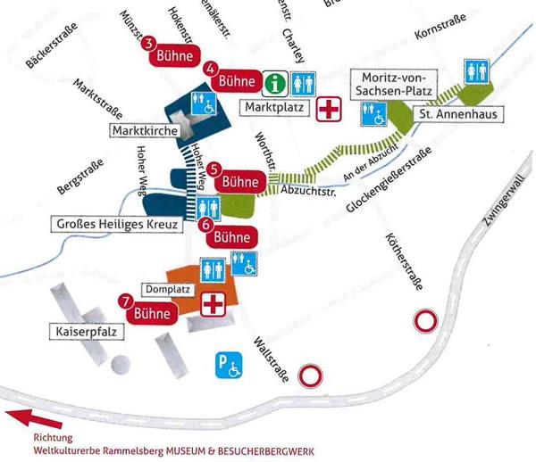 Lageplan Tag der Niedersachsen