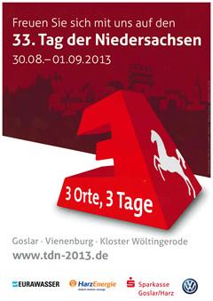 Plakat Tag der Niedersachsen