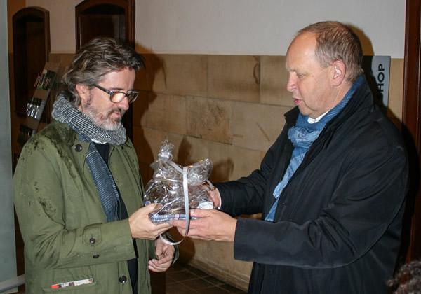 Olafur Eliasson besucht den Rammelsberg