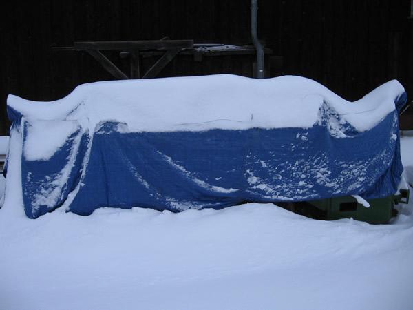 Außengelände Rammelsberg Winter