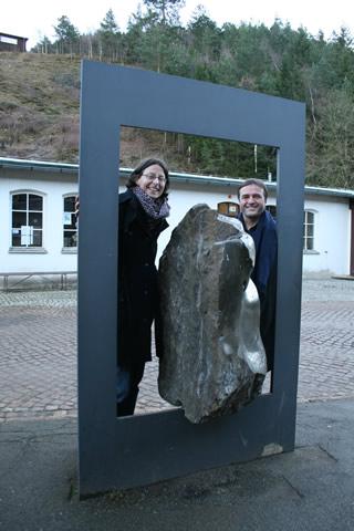 Dr. Manuela Armenat und Ullrich Reiff M.A Mitarbeiter Welterbe Harz