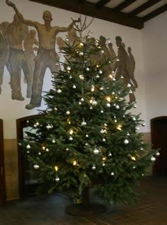 Rammelsberg - Weihnachtsbaum in der Kaue
