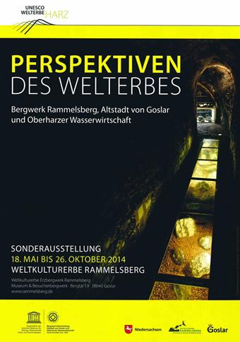 Perspektiven des Welterbes Harz - Ausstellungsplakat