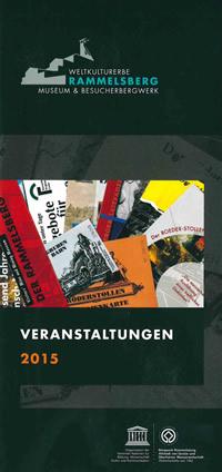Rammelsberg - Veranstaltungsprogramm 2015