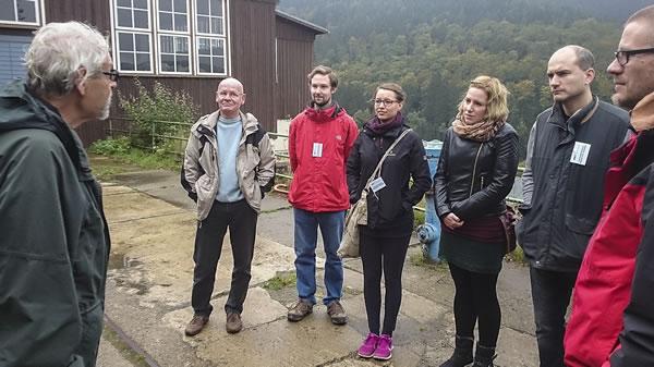 Studierende des Historischen Seminars am Rammelsberg