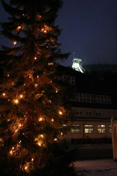 Weihnachtsstimmung am Rammelsberg