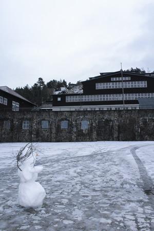 Schneemann am Rammelsberg