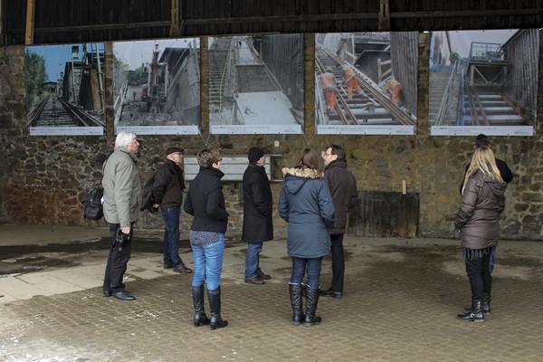 Arbeitskreis UNESCO-Welterbe Industriekultur - Gemeinsame Begehung der Anlagen am Rammelsberg