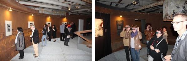 Mo(nu)ment Aufnahme - Blick in die Ausstellung