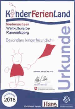 Urkunde FerienKinderLand