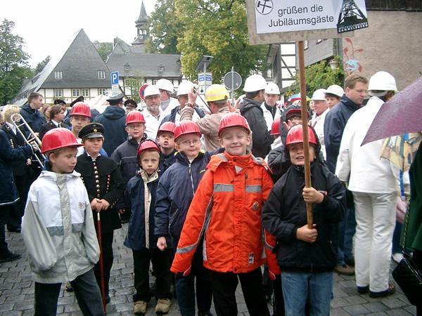 Bergparade mit den Bergzwergen 2005