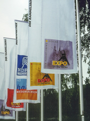 EXPO on the rocks - Fahnen