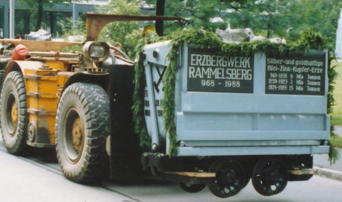 Bergparade und Trauermarsch am Rammelsberg - der letzte Hunt