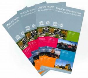 Flyer UNESCO Welterbestätten Industriekultur in Deutschland