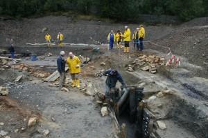 Sonderführungen zum Grabungsfeld am 11. September 2016