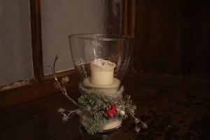 Die Kerzen sind abgebrannt