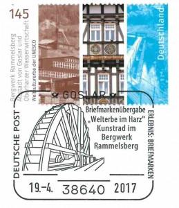 Sonderstempel Bergwerk Rammelsberg